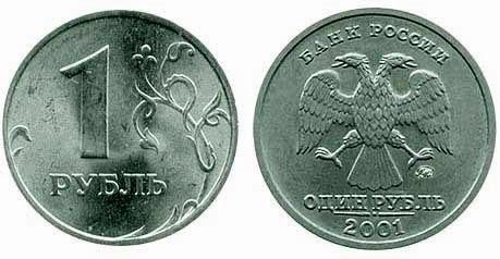 1 рубль 2000 водяные знаки на купюрах